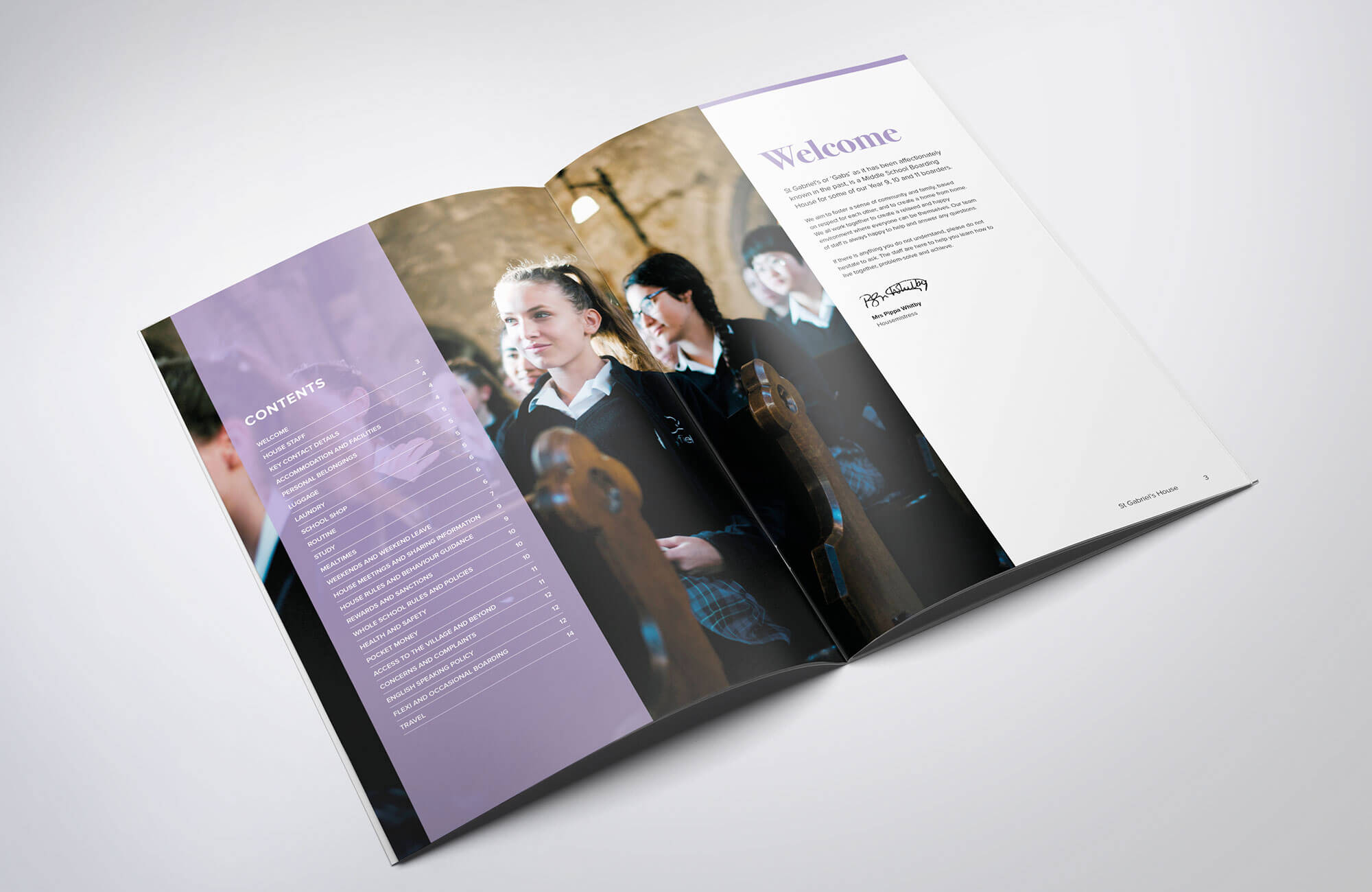 Mayfield School Sixth Form Choices Book Design