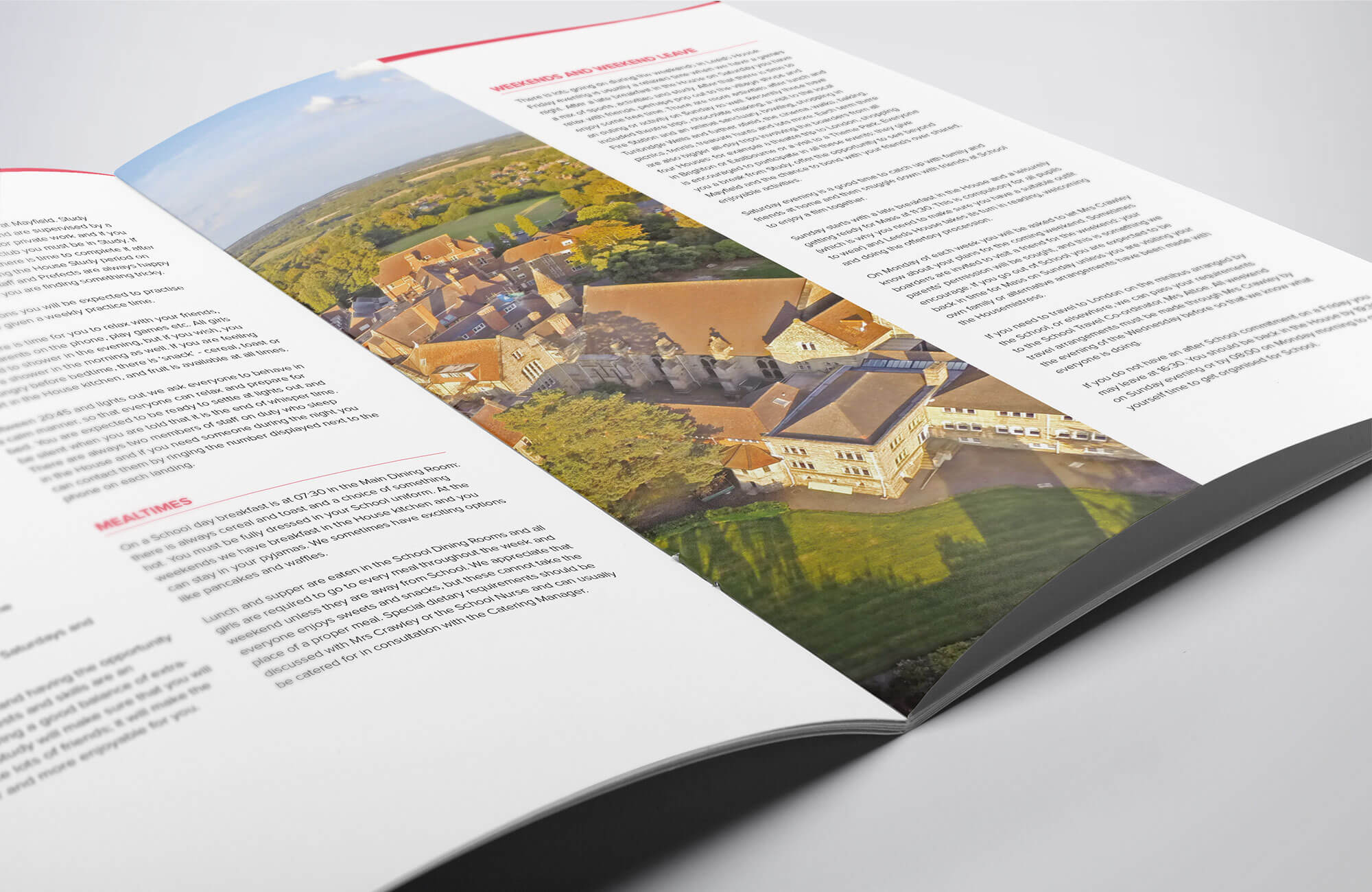 Mayfield School Brochure Design & Print