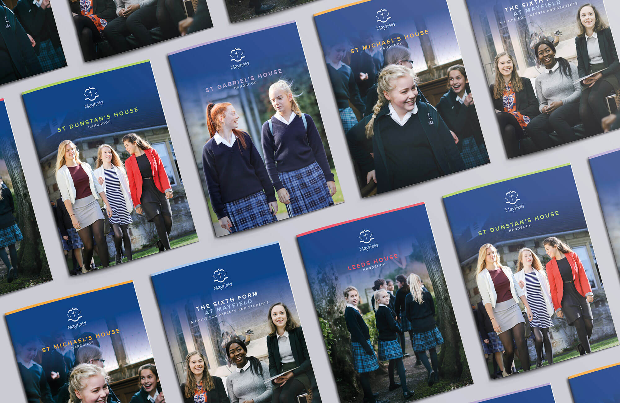 Mayfield School Redesigned Brochure Suite