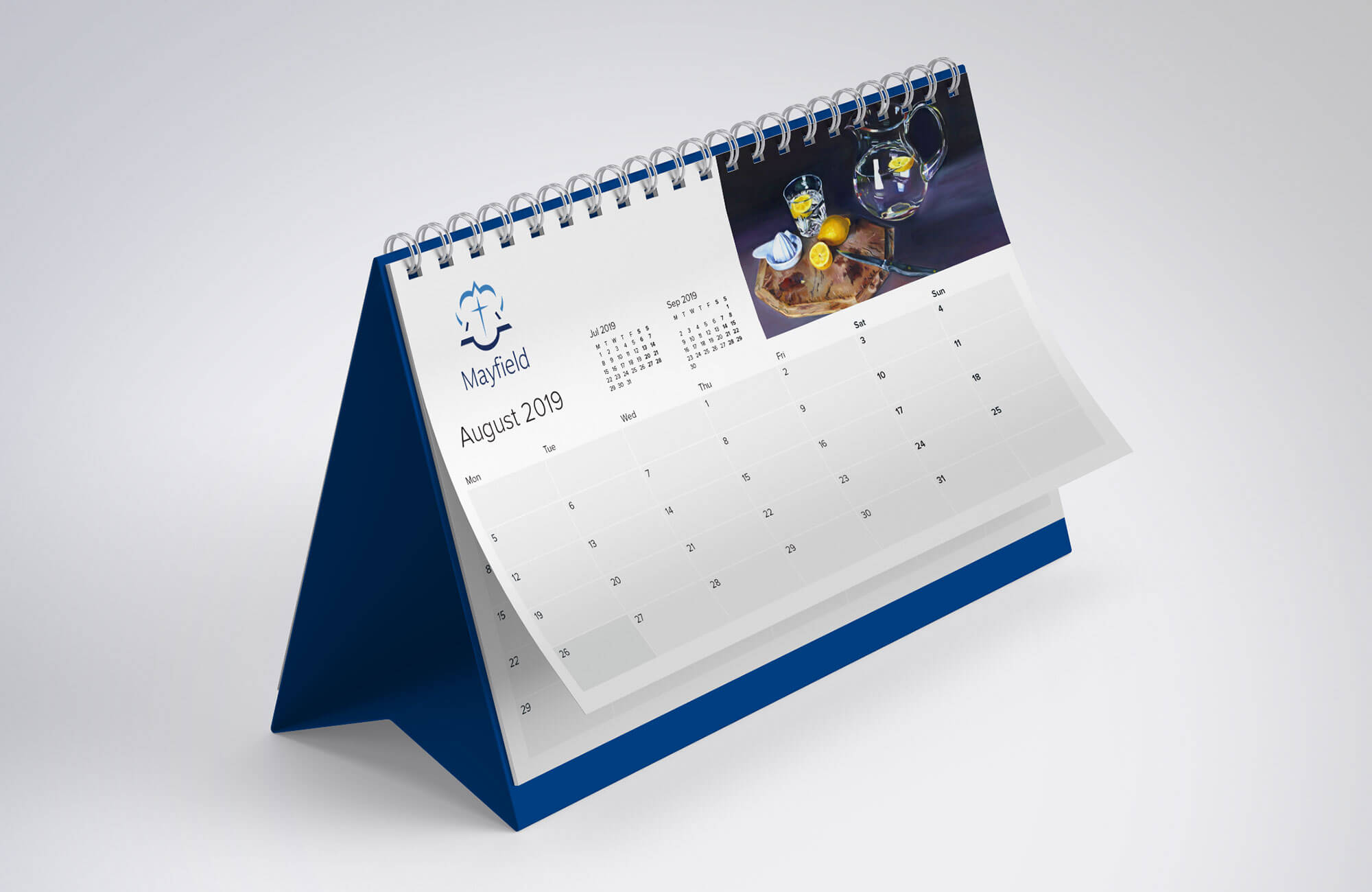Mayfield School Desk Calendar Design & Print