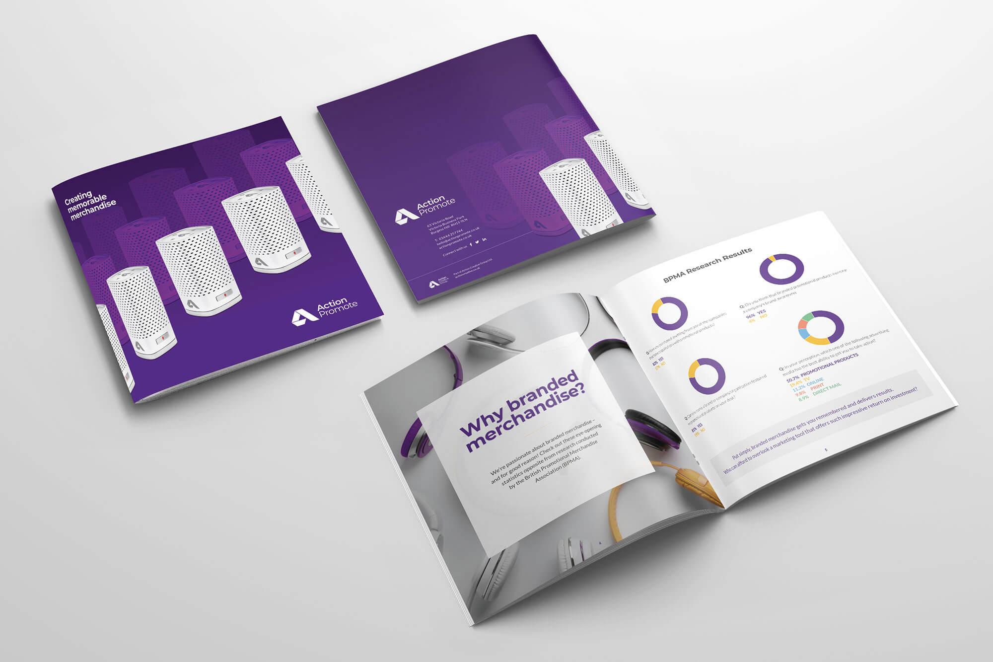 Action Promote Overview Brochure Design & Print