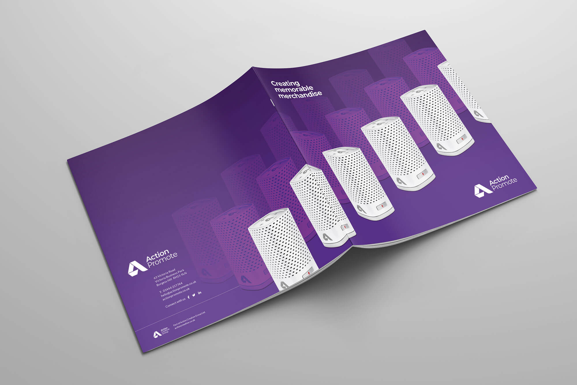 Action Promote Overview Brochure Outer Covers